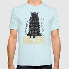 Dalek Unchained Mens Fitted Tee Light Blue SMALL