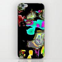 Bent Spots 1 B iPhone & iPod Skin
