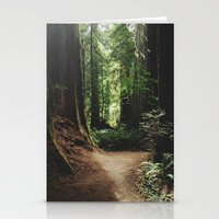Redwood Trail Stationery Cards