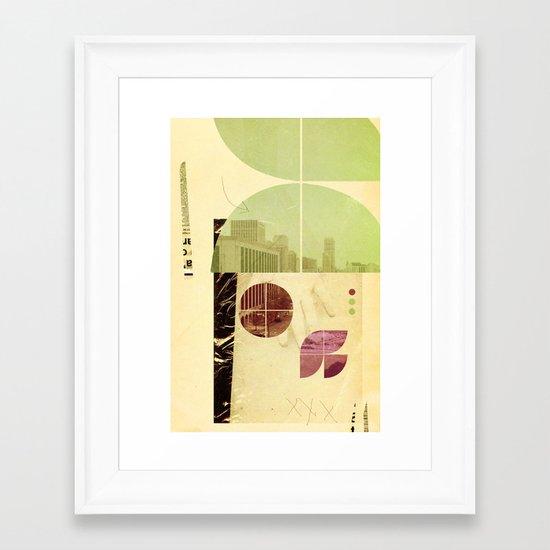 205 (Forensic Love Story) Framed Art Print