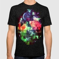 Lykyfyll Mens Fitted Tee Tri-Black SMALL