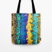 Macro Molecules of Color Tote Bag