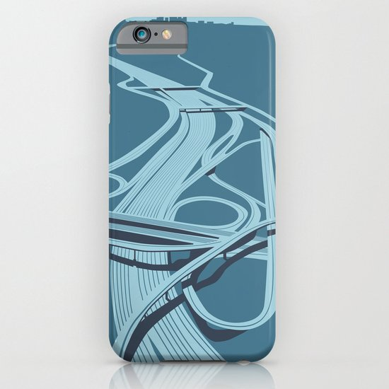 Los Angeles Freeways iPhone & iPod Case