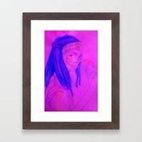 Among the Dead Framed Art Print