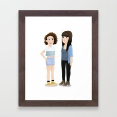 Broad City! Framed Art Print