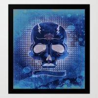 Ancient Skull Art Print