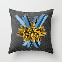 Lazereth Throw Pillow