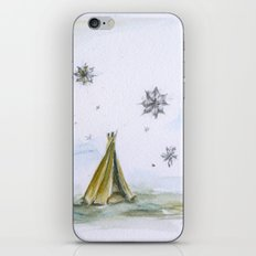 Tent iPhone & iPod Skin