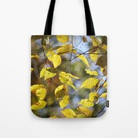 Dreaming Of Yellow Leave… Tote Bag
