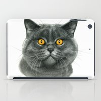 British shorthair cat  G120 iPad Case
