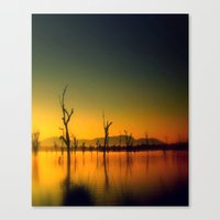 Morning Silence Canvas Print