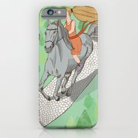 iPhone & iPod Case featuring Beauty & The Beast by Kathryn Corlett // Illustration and Desi