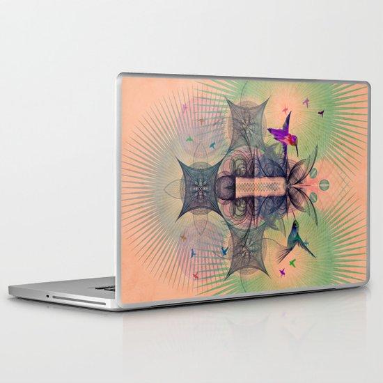 The Hummingbird Dimension Laptop & iPad Skin