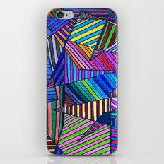 Colorful Lines iPhone & iPod Skin