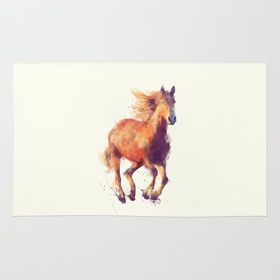 Horse Boundless Rug By Amy Hamilton Society6