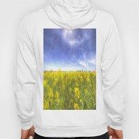 Yellow Fields Of Summer Art Hoody