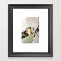 Meanwhile.. Landscape I Framed Art Print