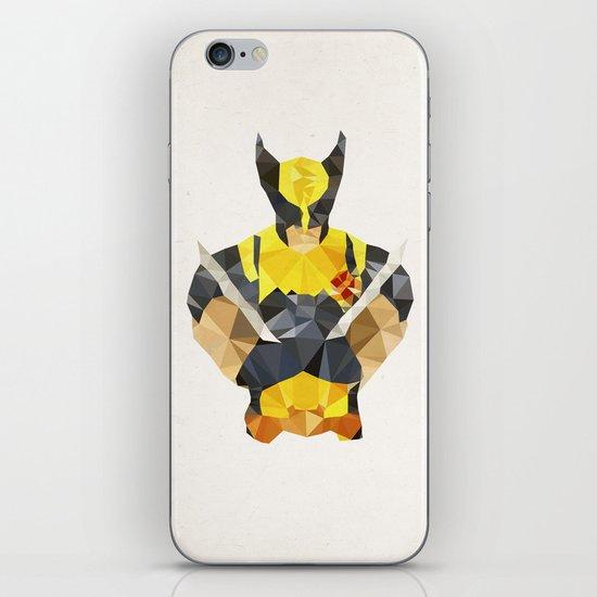 Polygon Heroes - Wolverine iPhone & iPod Skin