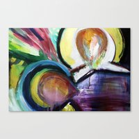 Off The Cross Icon Canvas Print