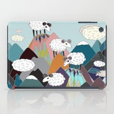 Clouds and Sheep iPad Case