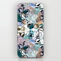 Abstract Geometric Shapes iPhone & iPod Skin