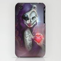 iPhone 3Gs & iPhone 3G Cases featuring 2013 Horror Girl by Love Horror