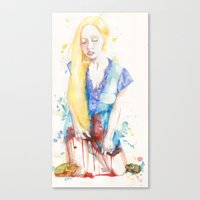 Her Virtue  Canvas Print