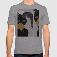 3.21 Mens Fitted Tee Athletic Grey SMALL