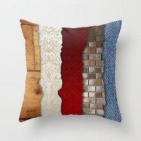 Texture Bundle Throw Pillow