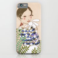 iPhone & iPod Case featuring Spring bunny by Irena Sophia