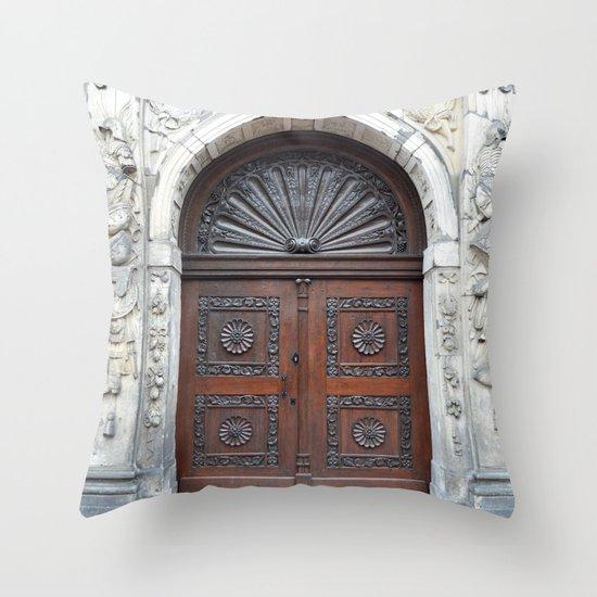 Dutch door Throw Pillow