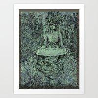 Barren Bliss Art Print