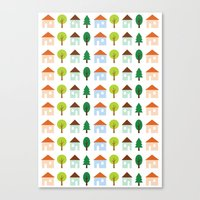 The Essential Patterns of Childhood - Home Canvas Print