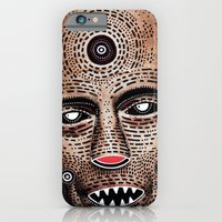 iPhone & iPod Case featuring M A S K  by Cosmic Nuggets
