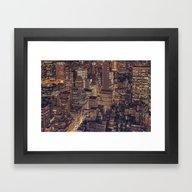 New York City 2015 Framed Art Print