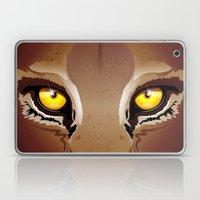 Wild Puma Eyes Laptop & iPad Skin