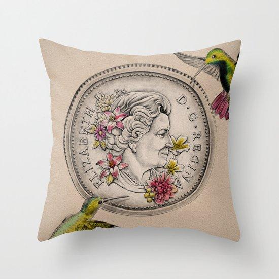 Our Beauty Queen Throw Pillow