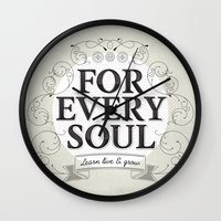 Every Soul Wall Clock