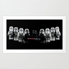 Forces of the Empire Art Print