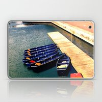 Row Boats Laptop & iPad Skin