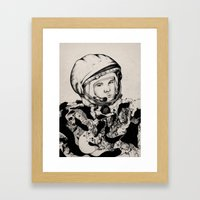 From Gagarin's Point Of … Framed Art Print