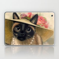 Lady Cat Laptop & iPad Skin