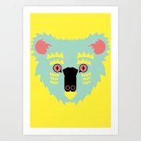 Kute Koala Art Print