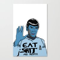 and prosper Canvas Print