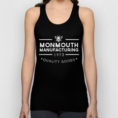 monmouth manufacturing white Unisex Tank Top