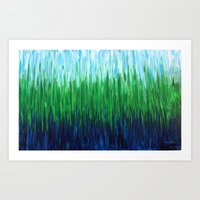 :: Sea Grass :: Art Print
