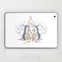 Firby Skull Laptop & iPad Skin