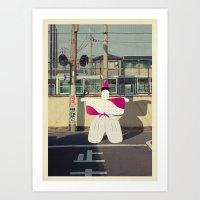 Postcard From Japan: Kyo… Art Print