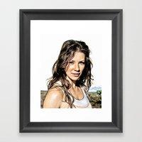 Kate From LOST (Evangeli… Framed Art Print