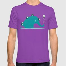 Waterslide Mens Fitted Tee Ultraviolet SMALL